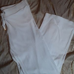 Juicy couture white lounge pants M